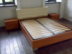Укрепление каркаса кровати