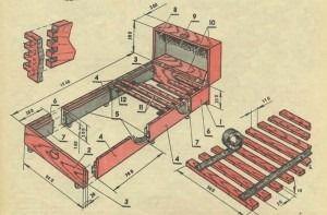 ремонт кроватей своими руками
