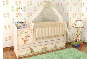 Подбор мебели для детской