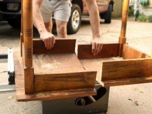 ремонт ножек стола